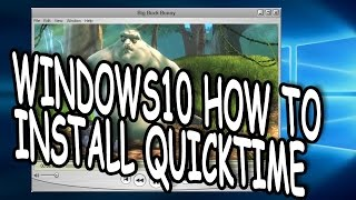 How To Install Quicktime 7 On Windows 10 Easy Tutorial 2017