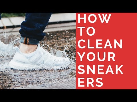 How To Clean Dirty Sneakers - Quick & Easy | White, Woven, Knit, Midsole, Upper, Laces