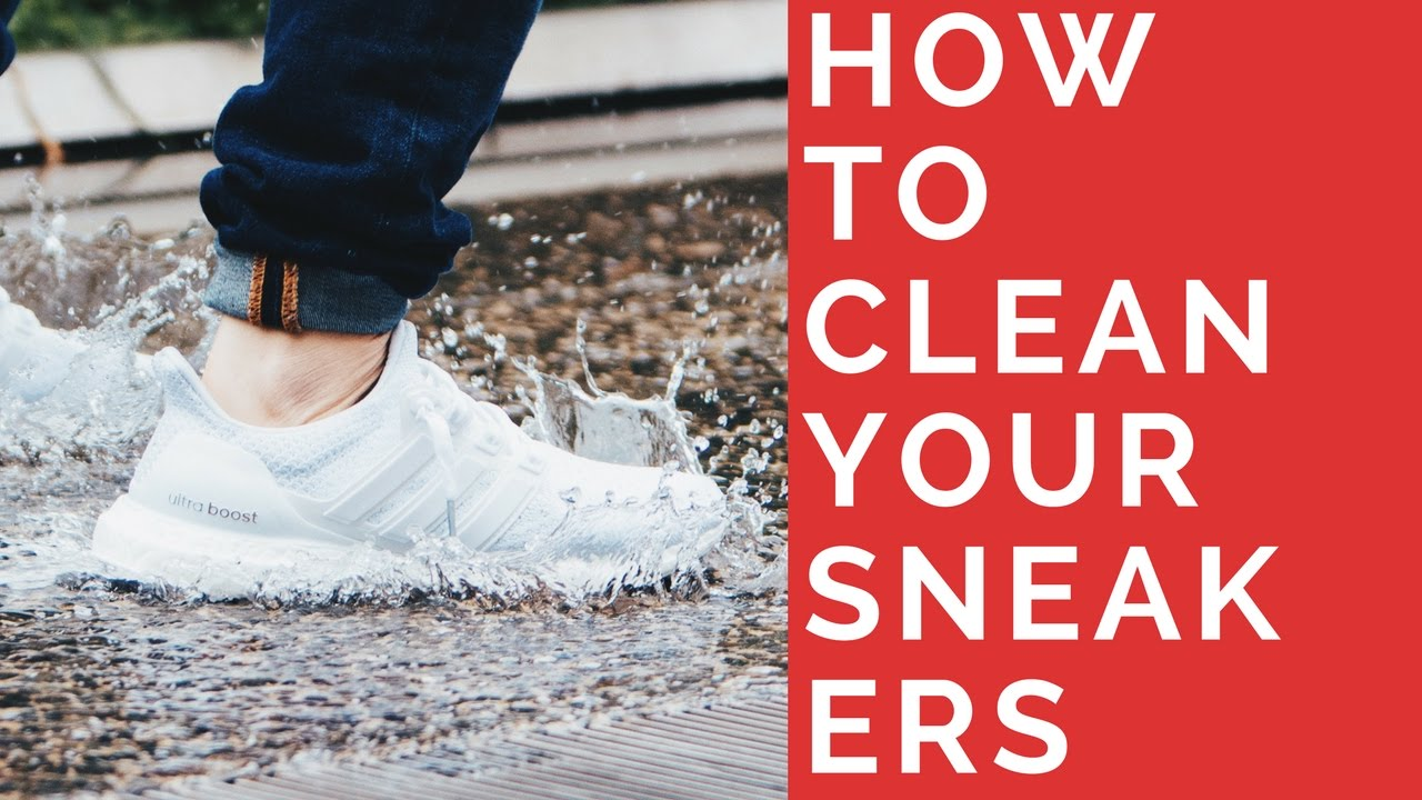 How To Clean Dirty Sneakers Quick Easy White Woven