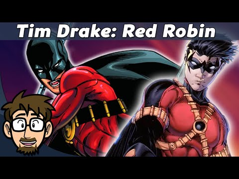 History of Tim Drake! (Red Robin) [Batman]