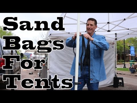 Sand Bags For Tents  sc 1 st  YouTube & Sand Bags For Tents - YouTube