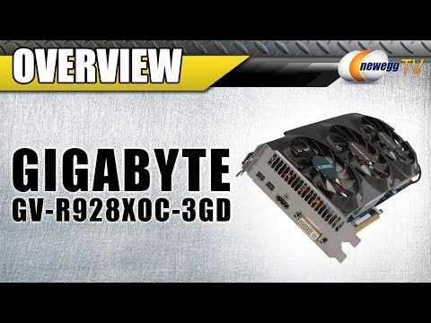 GIGABYTE Radeon R9 280X HDCP Ready CrossFireX Support Video Card Overview - Newegg TV