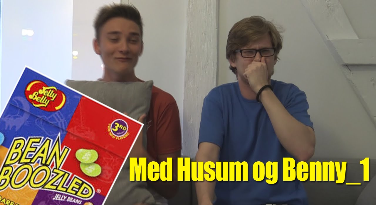 Bean Boozled Challenge - Med Husum og Benny_1 (danish)