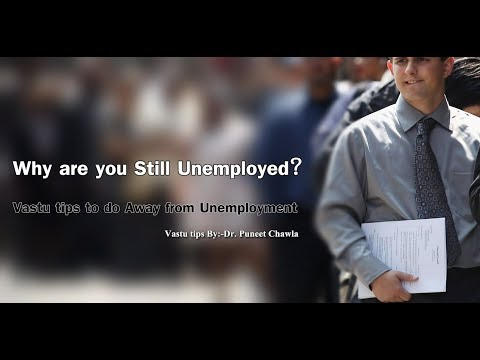 Why are you Still Unemployed? Vastu tips to do Away from Unemployment