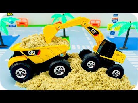 Camiones y Tractores Infantiles - Tractors for Children - Construction Trucks for Kids