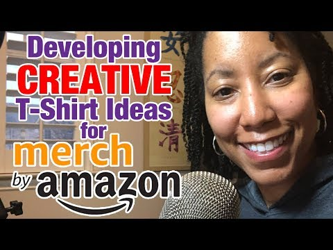 How to Create Clever T-Shirt Ideas for Merch By Amazon (Print on Demand)