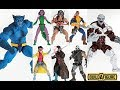 Marvel Legends Reveals/Thoughts: X-Men Wave (Beast, Gambit, Weapon X, Blink, Jubilee & Caliban BAF)