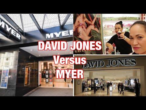 DAVID JONES VERSUS MYER ( Australia Department Store)