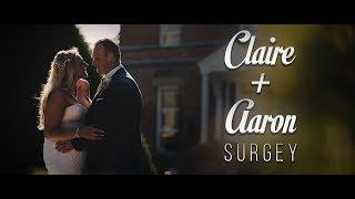 CLAIRE + AARON | Wedding Film - Shottle Hall (Derbyshire)