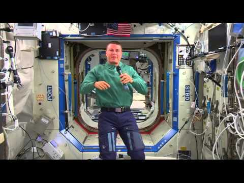 Space Station Astronaut Talks with Maryland Media