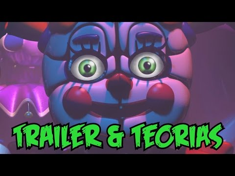 Trailer Five Nights at Freddy's Sister Location - Easter Eggs & Teorias!