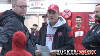 Mike Riley Recaps Day 9 of Spring Practice 3/31/17