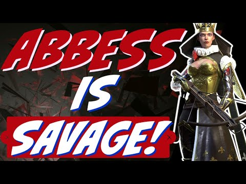 ABBESS is SAVAGE! A3 is busted! Raid Shadow Legends Abbess guide