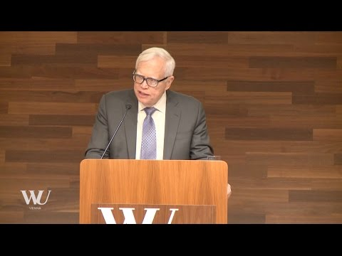 """WU matters. WU honors. WU talks. James J. Heckman: """"Inequality, Social Mobility, and Public Policy"""""""