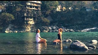 Video SWIMMING NAKED IN THE GANGA RISHIKESH INDIA | Travel Vlog download MP3, 3GP, MP4, WEBM, AVI, FLV Agustus 2018