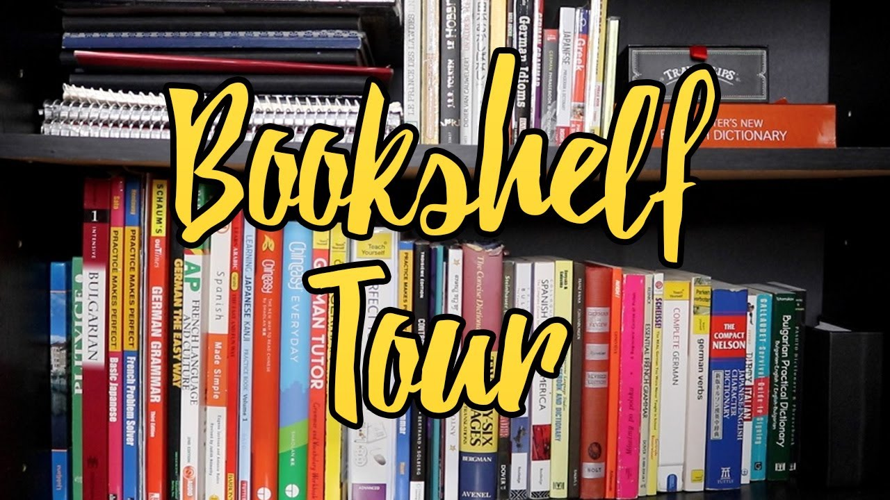 Abigails Language Bookshelf Tour