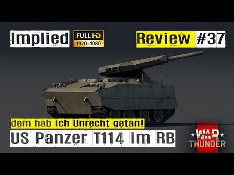 War Thunder TANK Review #37 der US Premium Panzer T114 im RB GAMEPLAY HD
