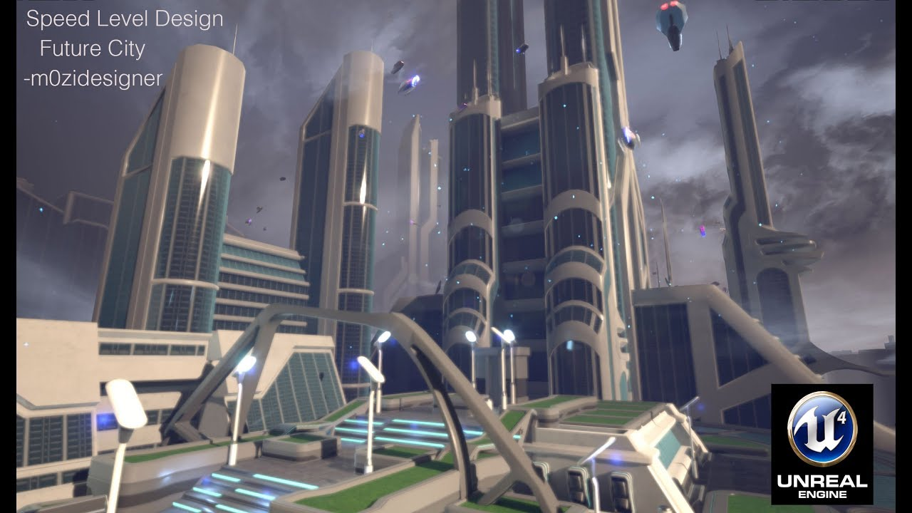 Unreal Engine 4 Free City Assets