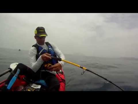 Sama a jigging desde kayak Thresher 140