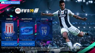 DLS 19 MOD FIFA 19 Android Offline/Online - Unlimited Money & All Logo Original