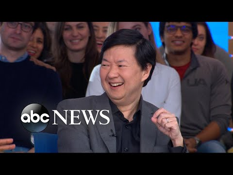 Ken Jeong talks fatherhood, comedy and 'Crazy Rich Asians' l GMA