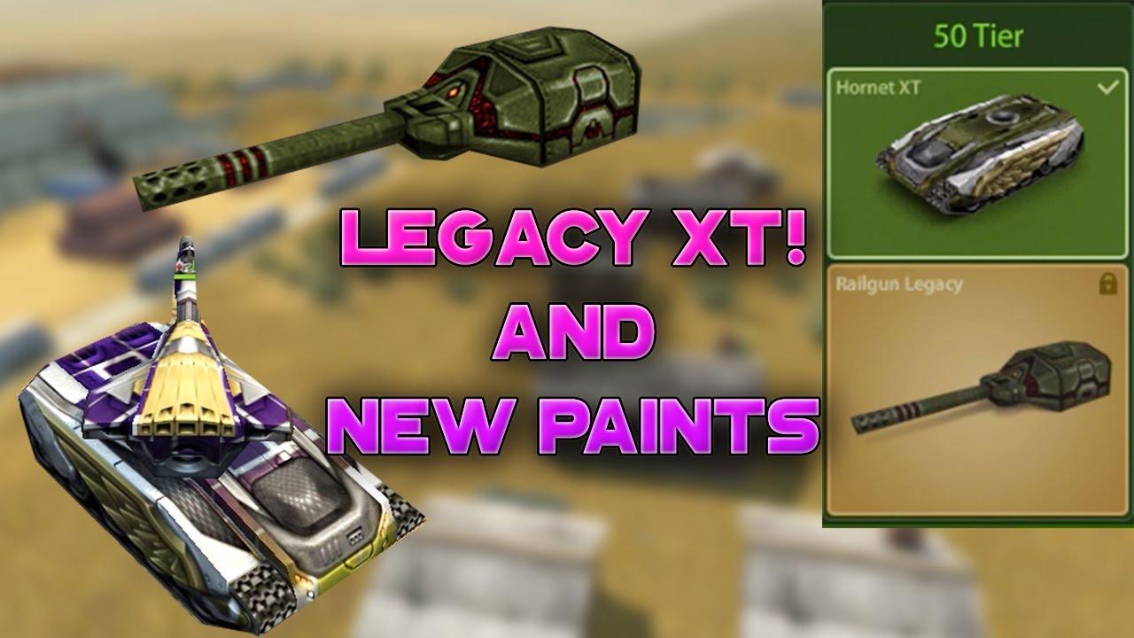 Tanki Online - Road to Legacy Railgun! 2000 Stars Challenge | Singapore Paint | танки Онлайн