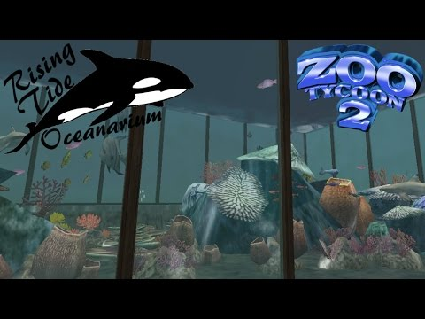 Zoo Tycoon 2: Rising Tide Oceanarium Part 6 - Shark Aquariums