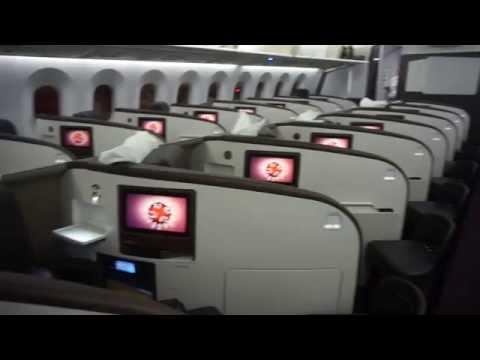 Virgin 787-9 Upper Class, Premium Economy, Economy & Clubhouse visit Hong Kong