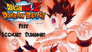 Dokkan Battle - FREE ACCOUNT SUMMONS - KID BUU DOKKAN EVENT SUMMONS