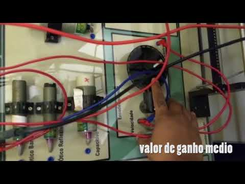 Encoder em malha fechada (proporcional)