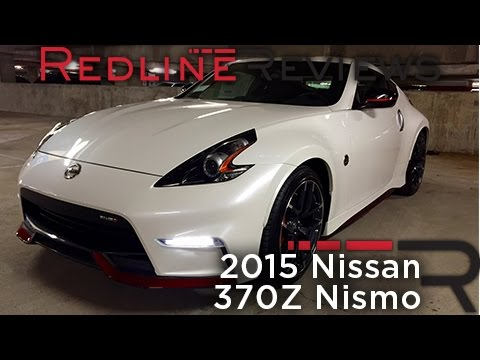 2015 Nissan 370z Nismo Redline Review Youtube