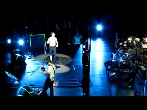 Red Hot Chili Peppers - Jam [tech issues] + Pink As Floyd [tease] (2012/08/11 Los Angeles, CA)