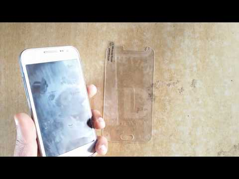 How to install Gorilla Tempered Glass Guard | Samsung Galaxy | Core  Prime | Mobile Screen Protector