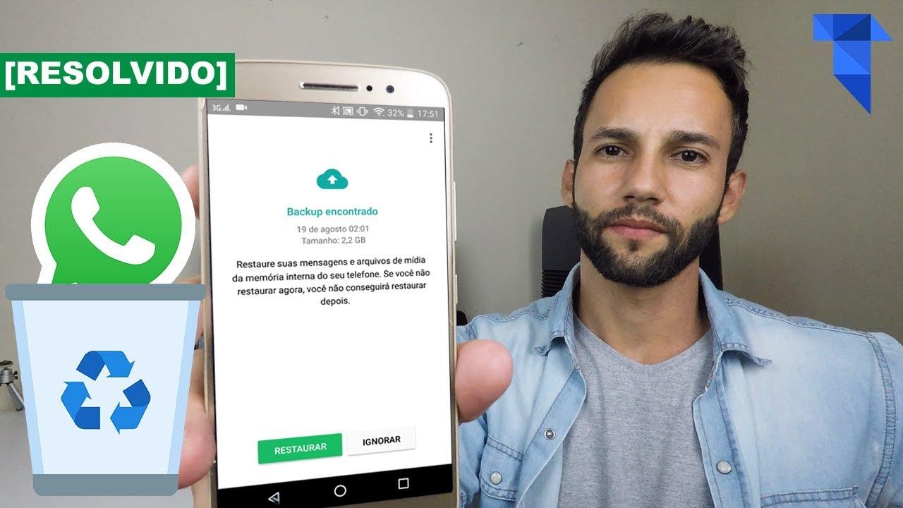 Aplicativo para recuperar mensagens apagadas do whatsapp