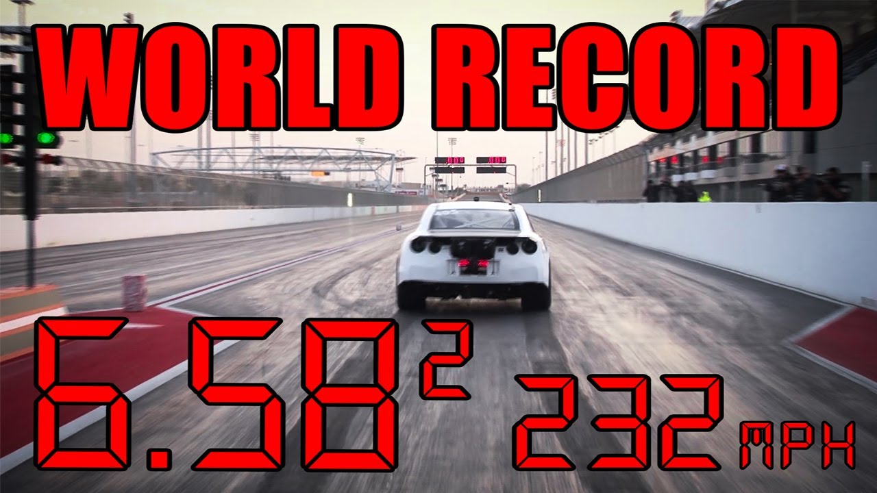 Watch This Impossibly Quick Nissan GT-R Break a Quarter-Mile