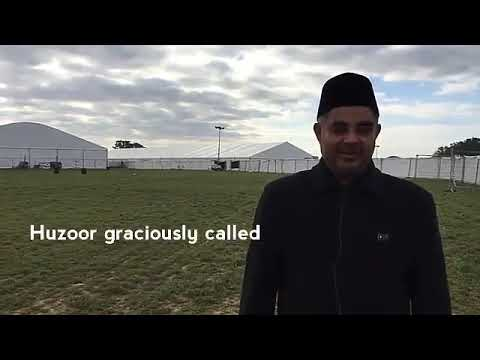 Mulaqat with Huzoor   Ansar Stories