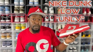 """ARE DUNKS THE NEW WAVE? NIKE DUNK LOW """"UNLV"""" REVIEW"""