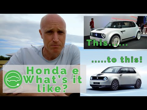 Honda e | A Great Electric City Car or Total Disappointment?
