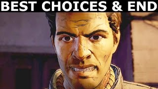 The Walking Dead Episode 4 - The Best Choices & Ending (Season 3 A New Frontier) (No Commentary)
