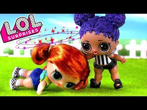 Панки В ШОКЕ! Куклы ЛОЛ сюрприз подрались из-за парня! Мультик LOL dolls
