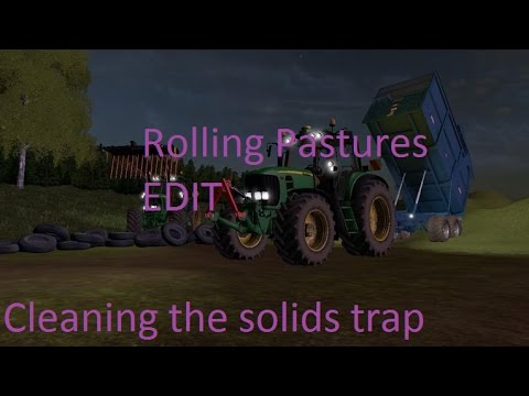 fs 17 nz cleaning out the solids trap