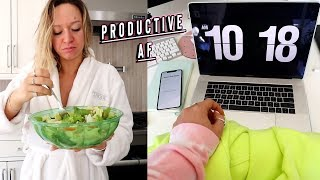 a productive af vlog + getting the new iphone 11 pro max
