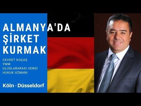 ALMANYA'DA NASIL ŞİRKET KURULUR? (İşadamları için Almanya'da yatırım imkanları)