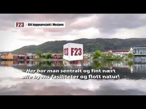 F23 - 12 Flotte nye leiligheter sentralt i Mosjøen!