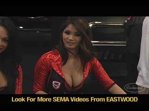 Girls of SEMA 2011  Plus Drifting Street Rods and