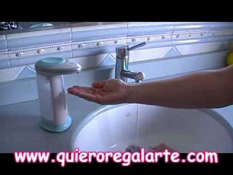 Dispensador de jabon automatico quieroregalarte youtube - Dispensador de jabon automatico ...