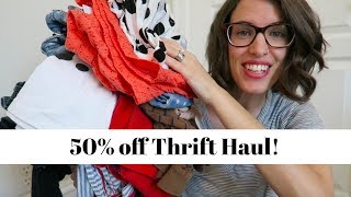 Thrift Haul | Salvation Army Finds 50% off