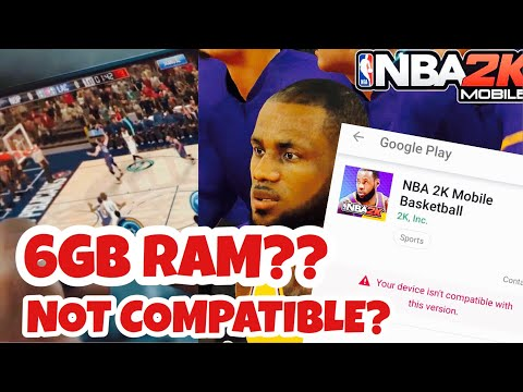 NBA 2K MOBILE ANDROID Compatibility Issues @NBA2KMobile