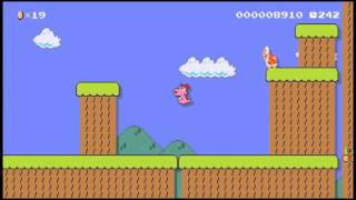 Super Mario Maker : BIRDO [Super Mario Bros.3 stage]