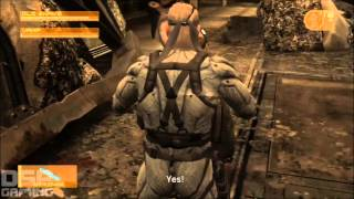 This Is How You DON'T Play MGS4 With Bonus DSP Tries It - Unnecessary Kojima Insults